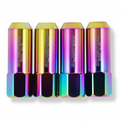 60mm ALUMINUM LUG NUTS_NEO CHROME / SICKSPEED