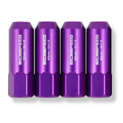 60mm ALUMINUM LUG NUTS_PURPLE / SICKSPEED